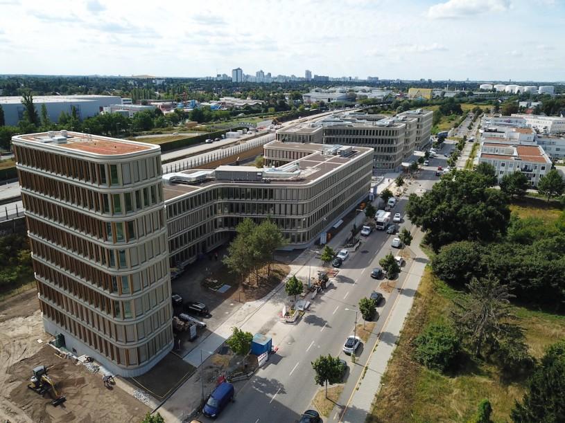 Fertigstellung der BRAIN BOX BERLIN und Mieterausbau 08/2020