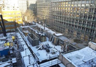Otto-Suhr-Allee 18/20: Der Neubau wächst - der Altbau gedeiht!