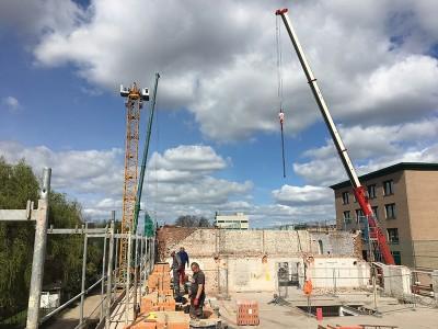 Baustellenbericht aus dem RavensbergQuartier 05/2017