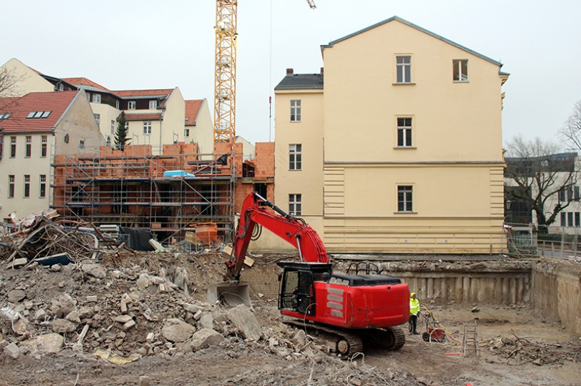 DERFF22QUARTIER & CoFACTORY: Baustellenbericht Januar 2018