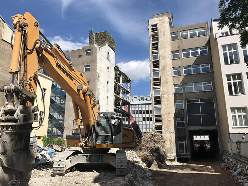 DERFF22: Bauvertrag mit ZÜBLIN AG und aktueller Projektstand 07/2017