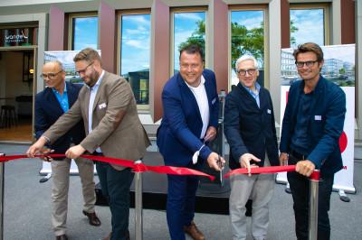 Fertigstellung und Startschuss des Bürocampus BRAIN BOX BERLIN mit WANDEL Restaurant