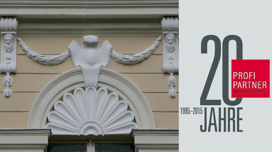 PROFI PARTNER AG feiert 20-jähriges Bestehen