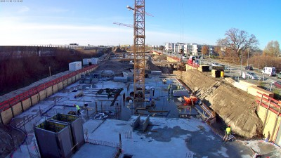 Rasanter Baustart zum Büro-Campus BRAIN BOX BERLIN in Adlershof