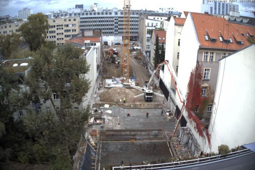 DERFF22QUARTIER: Baustellenbericht Oktober 2017