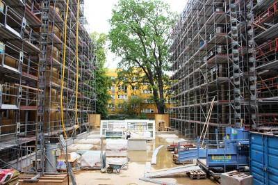 Baustellenbericht aus dem Ottilie-von-Hansemann-Haus