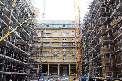 Neuer Baustellenbericht aus dem Ottilie-von-Hansemann-Haus