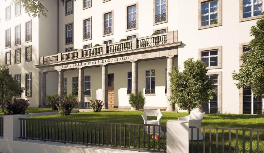 Das Ottilie-von-Hansemann-Haus in der Otto-Suhr-Allee 18/20 wird saniert
