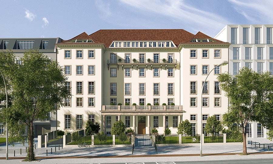 Unsere Denkmalimmobilie: Das Ottilie-von-Hansemann-Haus
